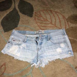 Hollister Light Blue Shorts 5
